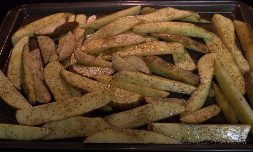 Baked Cajun Potato Fries-1