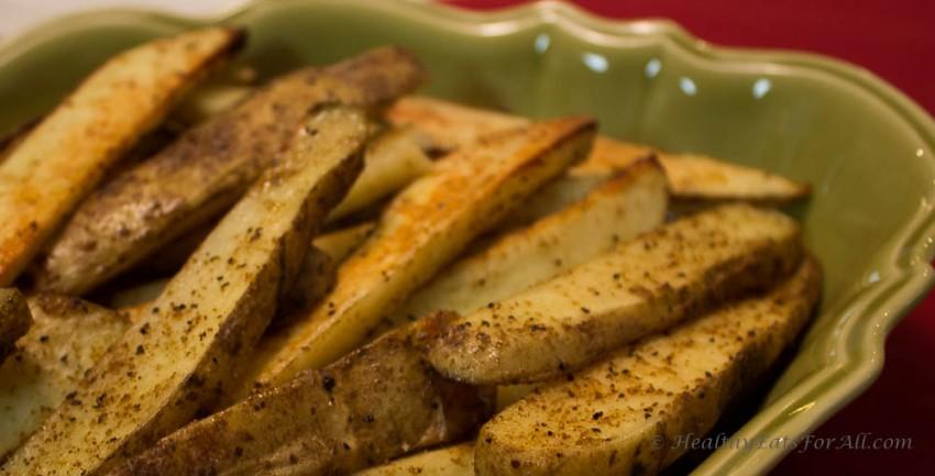 Baked Cajun Potato Fries-4