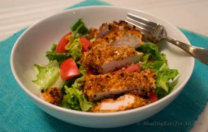 Buffalo Sauce Oven Fried Chicken-11