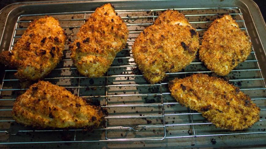 Buffalo Sauce Oven Fried Chicken-8