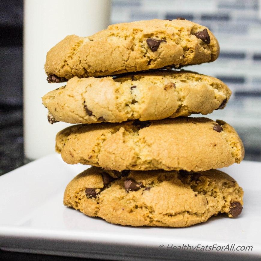 Oat Flour Choc Cip cookies-17