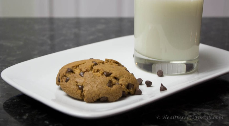 Oat Flour Chocolate Chip cookies-12