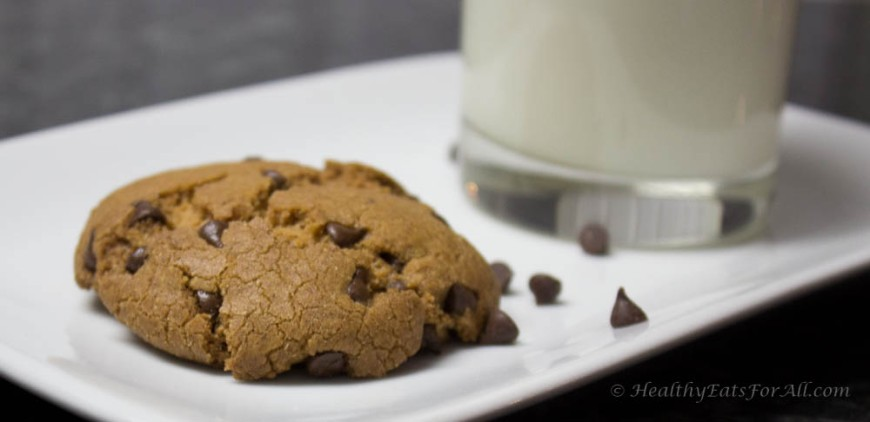Oat Flour Chocolate Chip cookies-15
