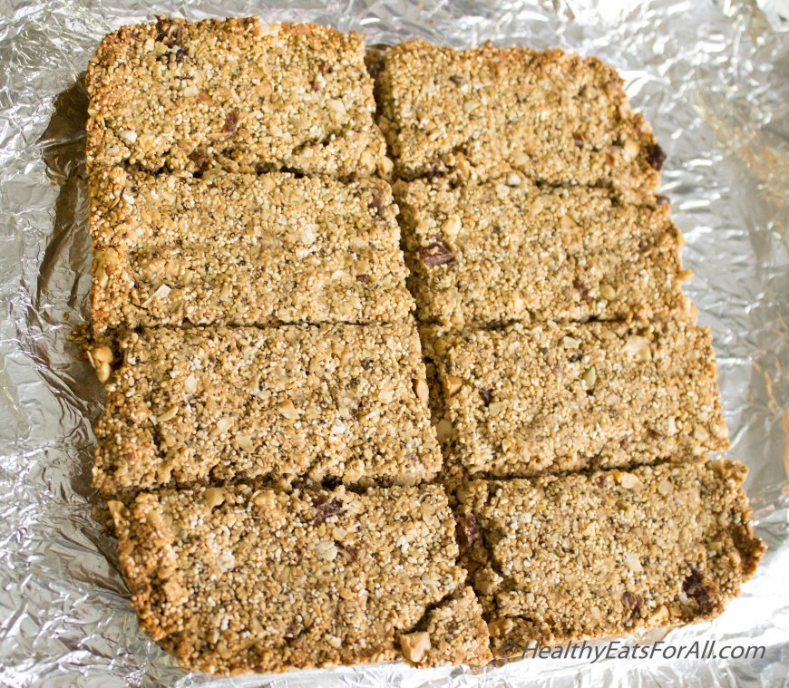 Amaranth Protein Bars-11
