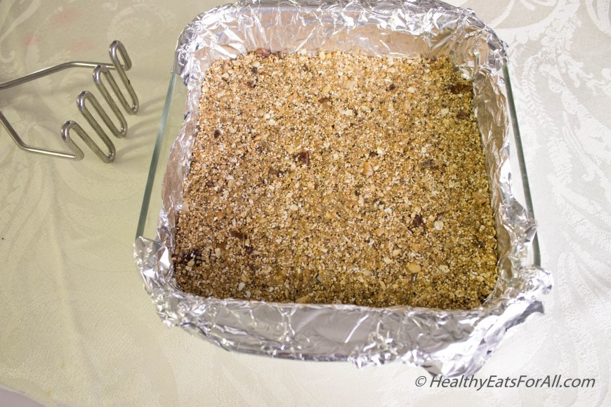 Amaranth Protein Bars-7