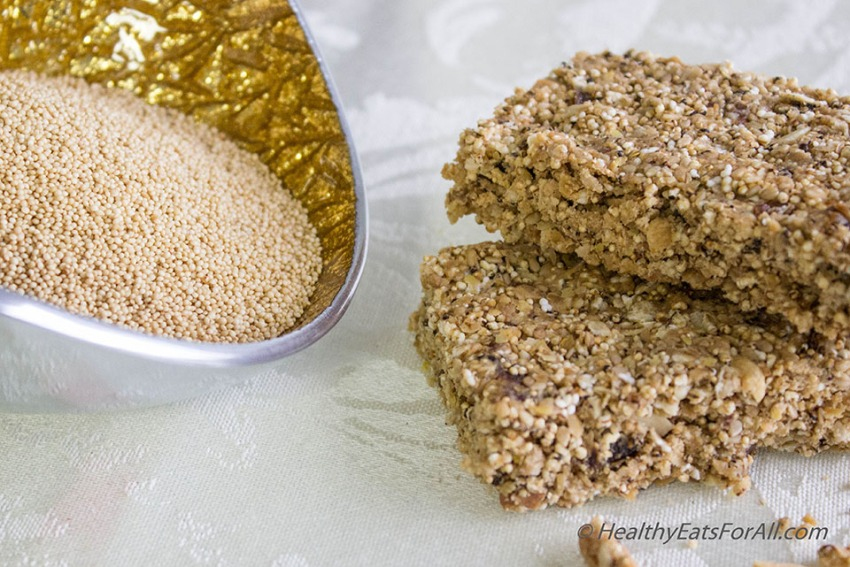 Amaranth Protein Bars-8a