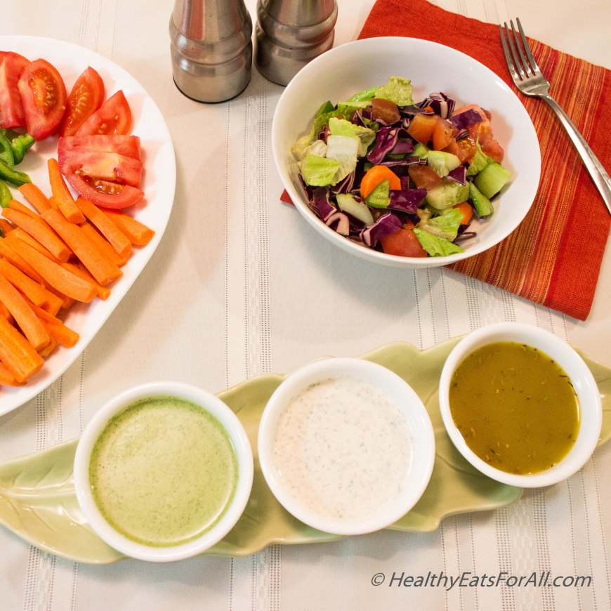 Homemade Salad Dressings PartI-3