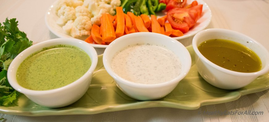 Homemade Salad Dressings PartI-4