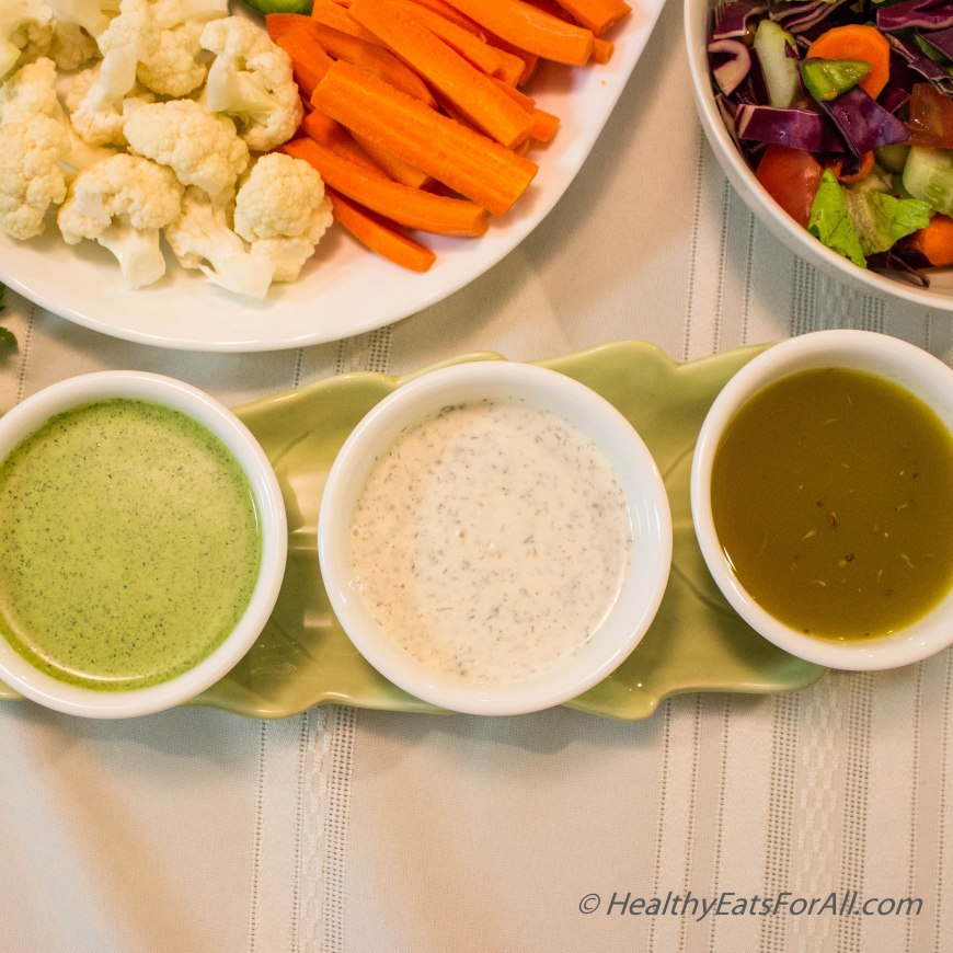 Homemade Salad Dressings PartI-5