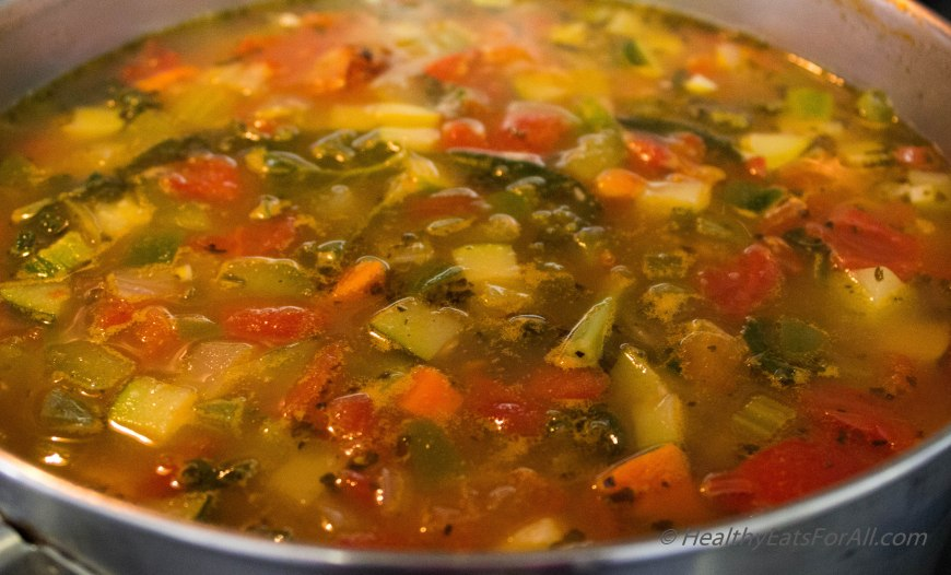 Minestrone Soup-11