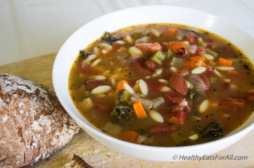 Minestrone Soup-12