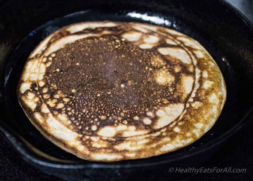 Chocolate Chip Protein Pancakes-11