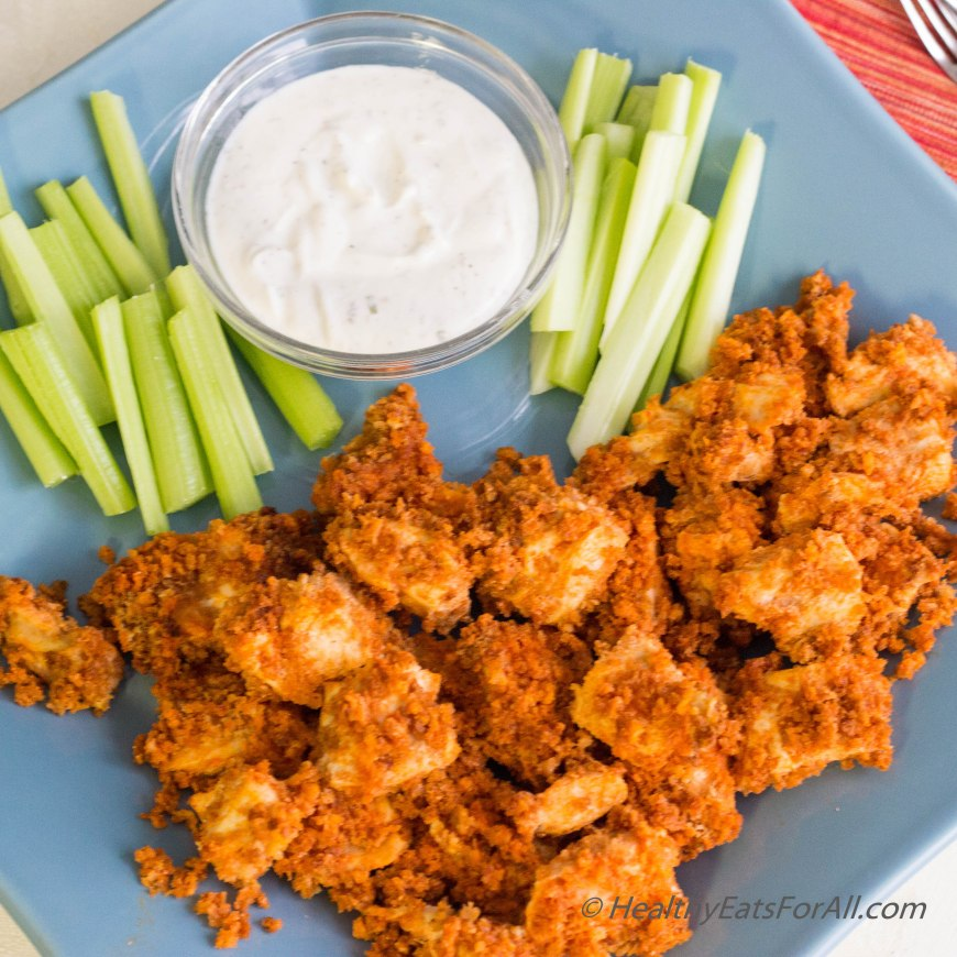 Baked Buffalo Chicken Wing-10