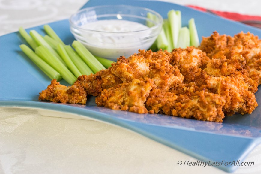 Baked Buffalo Chicken Wing-8
