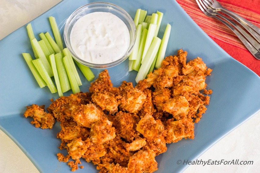 Baked Buffalo Chicken Wing-9a