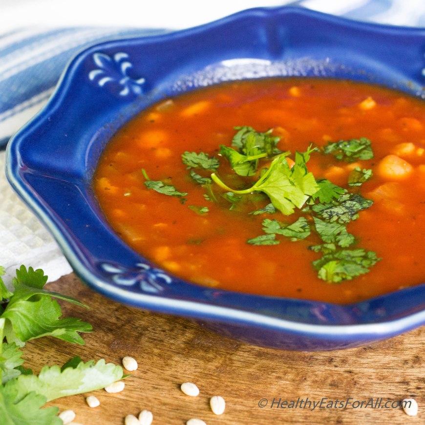 Pasta Fagiole Soup-4