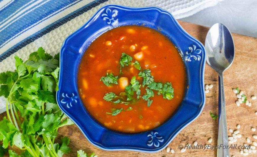 Pasta Fagiole Soup-5