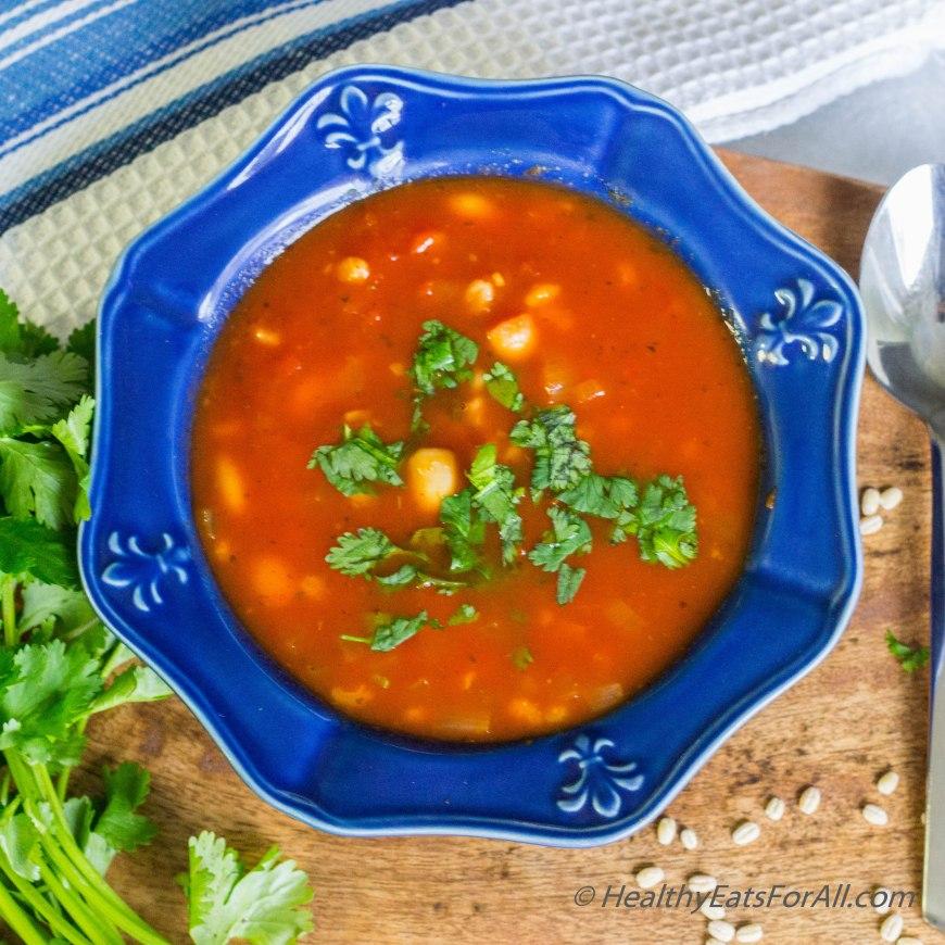 Pasta Fagiole Soup-6