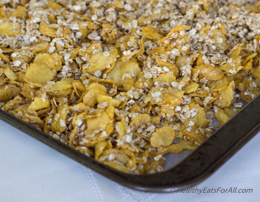 Homemade Honey Bunches of Oats cereal-12