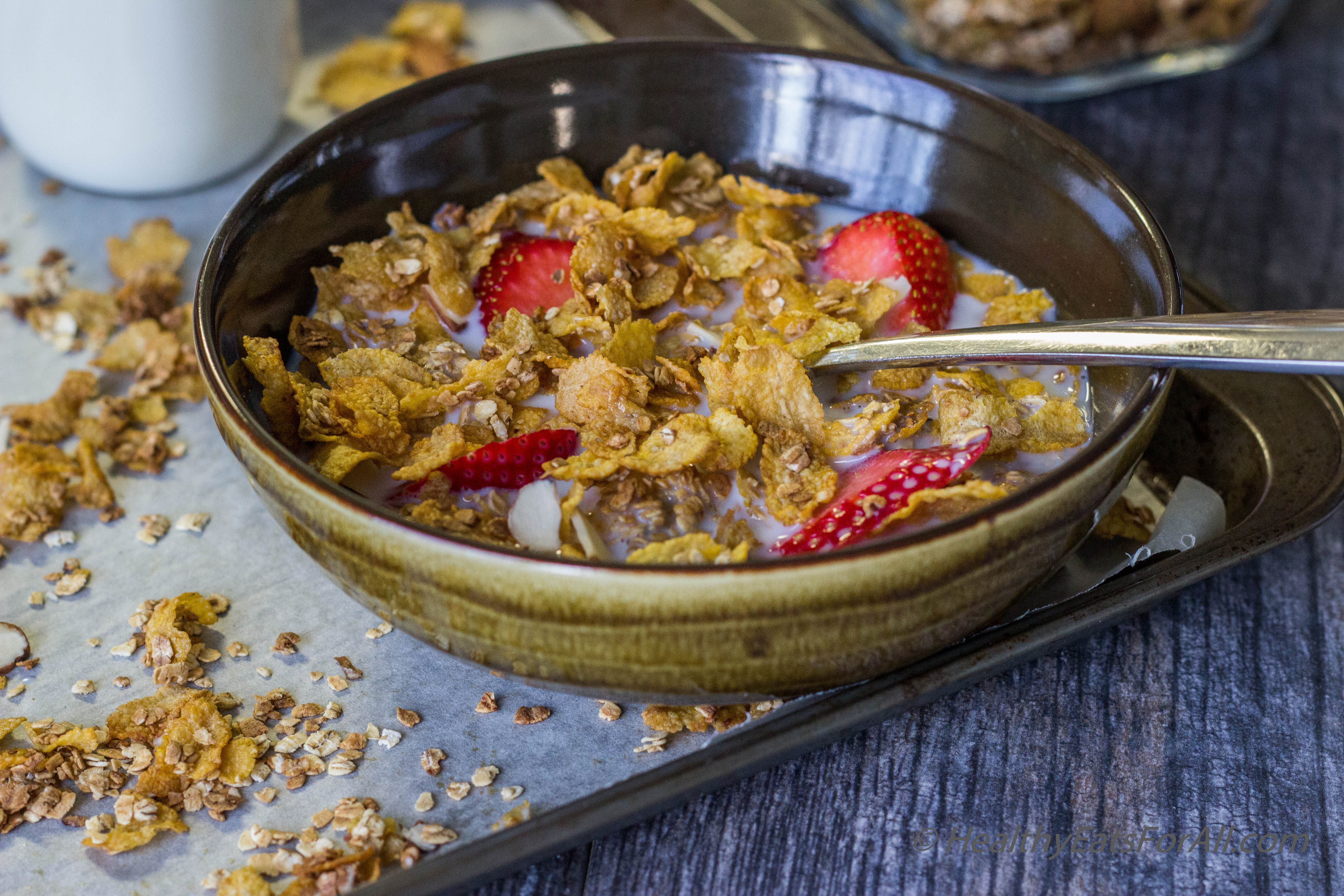 Homemade honey bunches of oats cereal healthy eats for all honey bunches of oats cereal 4 ccuart Choice Image