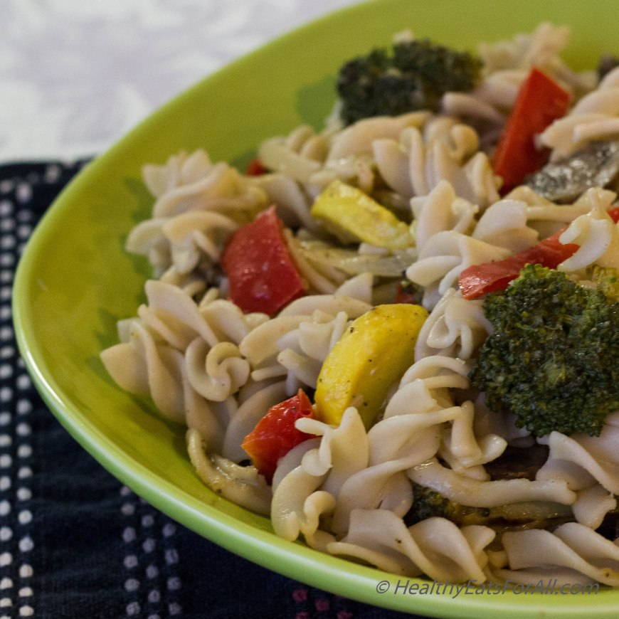Pasta with Roasted Vegetables-19