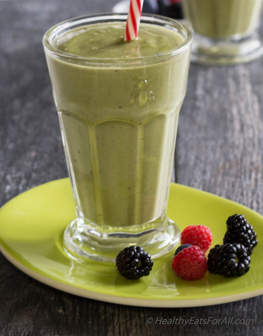 Avocado Berry Smoothie-5a