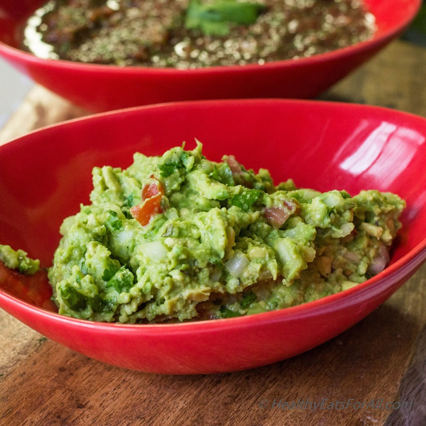Restaurant Style Salsa and Guacamole-10a