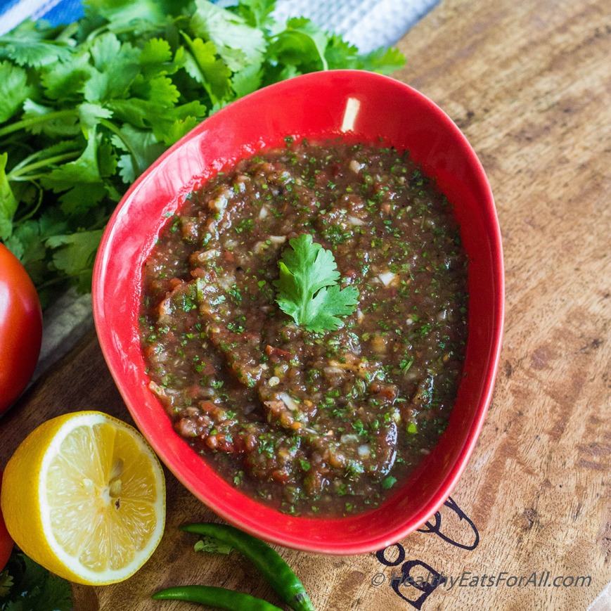 Restaurant Style Salsa and Guacamole-6a