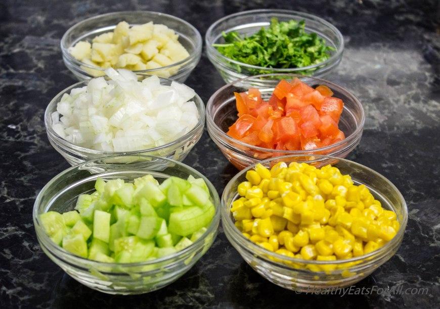 Quinoa Corn Vegan Bhel-1