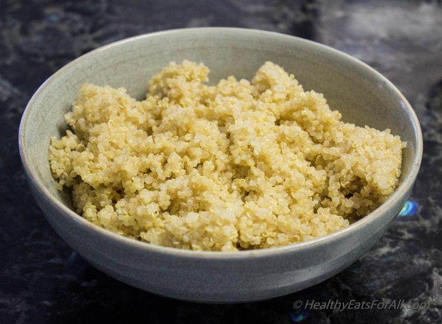Quinoa Corn Vegan Bhel-2
