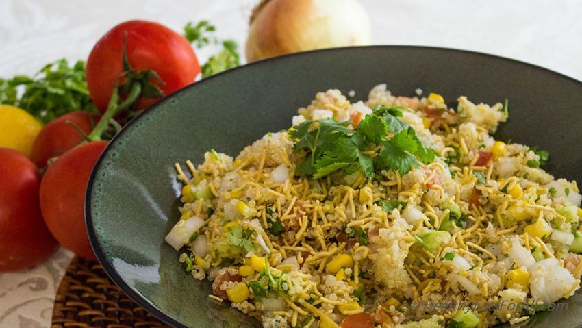 Quinoa Corn Vegan Bhel-5a