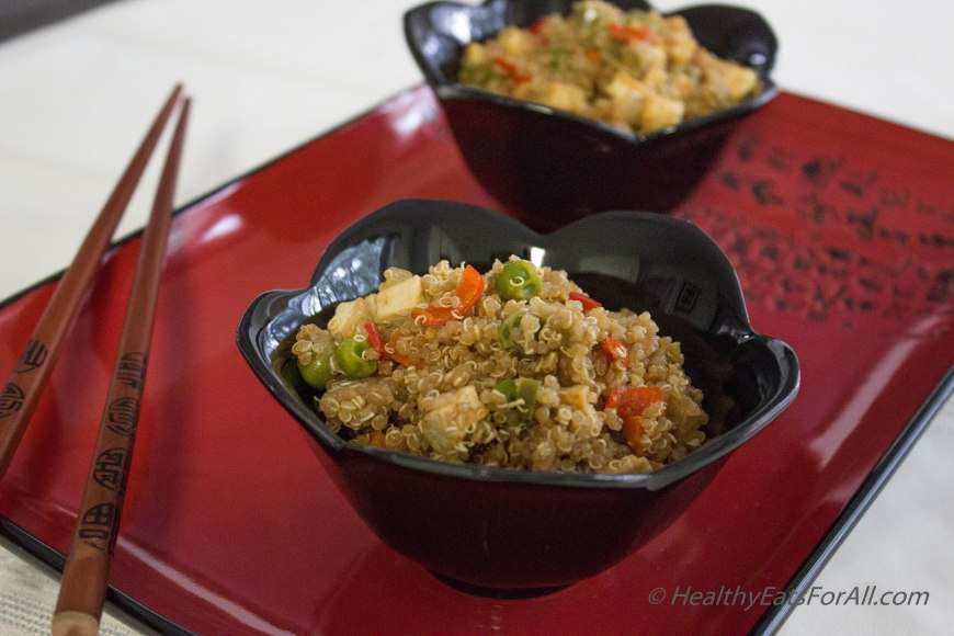 Quinoa Tofu Fried Rice Style-5