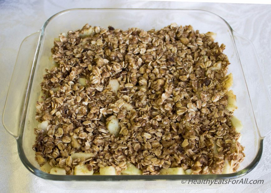 Apple Crisp with Oats-12