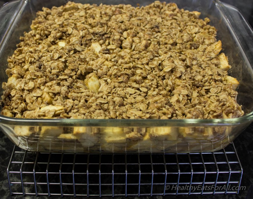Apple Crisp with Oats-13