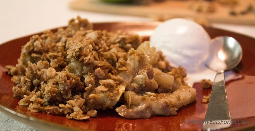 Apple Crisp with Oats-14